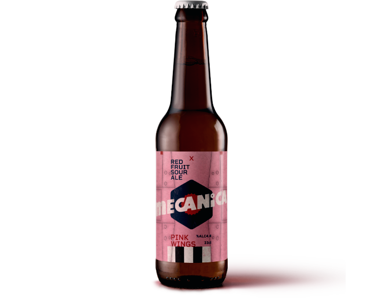 MECANICA PINK WINGS <span>RED FRUIT SOUR ALE</span>