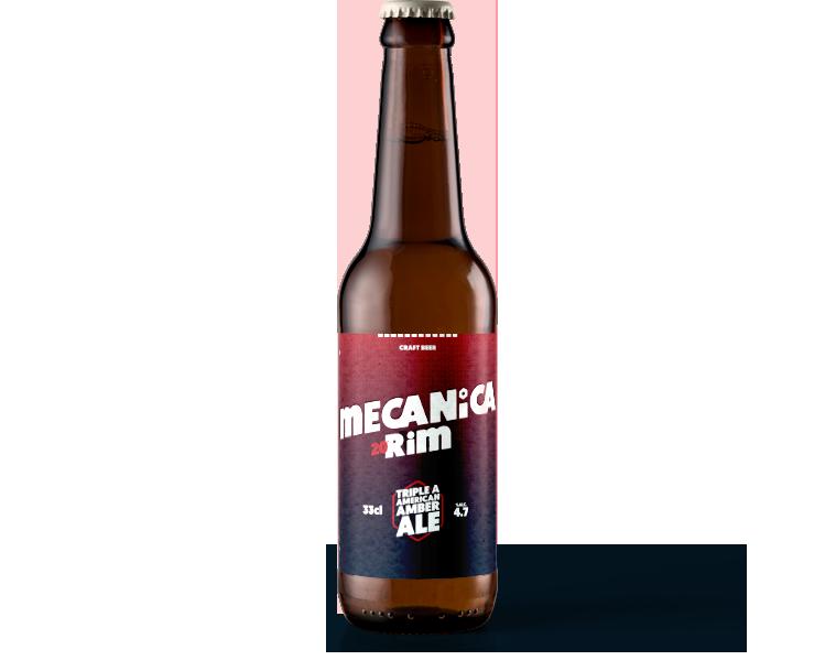 "MECANICA 20""RIM <span>TRIPLE A • AMERICAN AMBER ALE</span>"