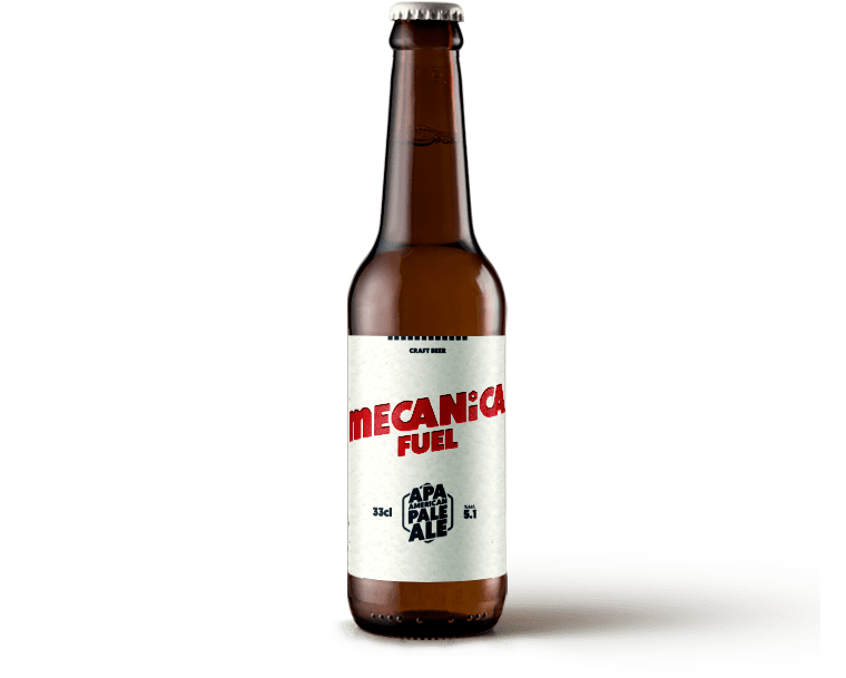 MECANICA FUEL <span>AMERICAN PALE ALE</span>