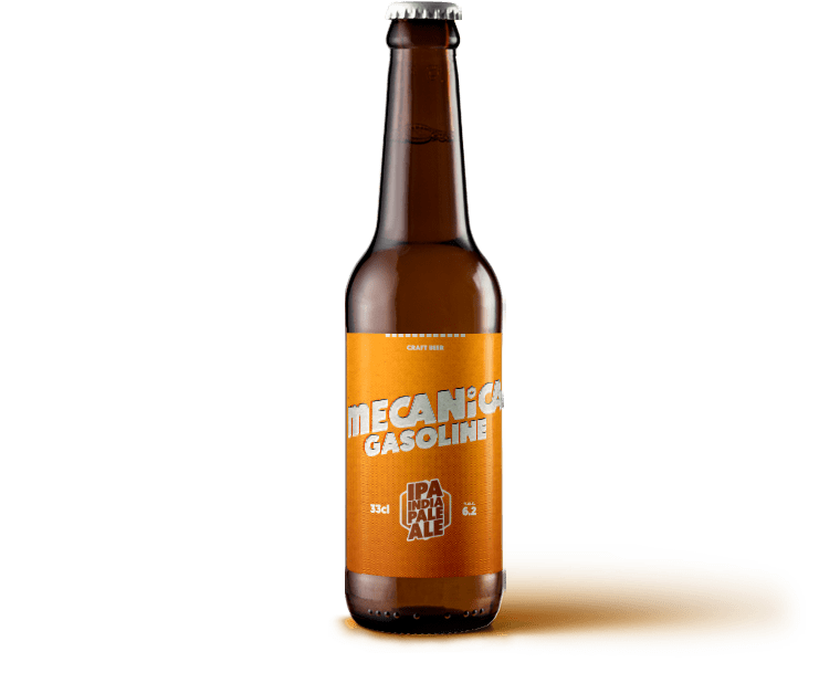 MECANICA GASOLINE <span>INDIA PALE ALE</span>