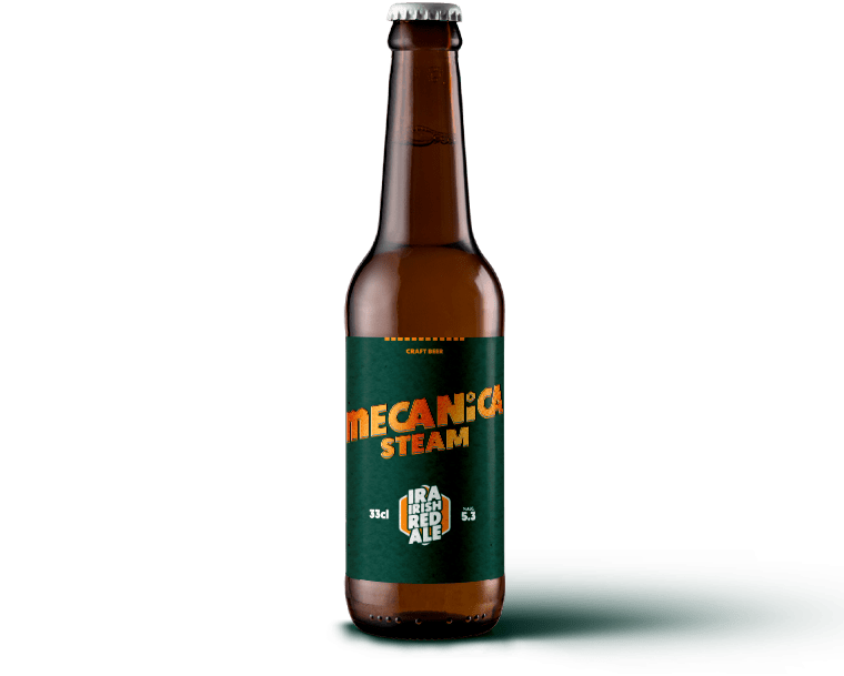MECANICA STEAM <span>IRISH RED ALE</span>